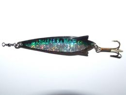 3 FFT Toby Flash 30g Spinner Lure Mackerel Bass Cod Pike Sea Fishing Treble Hook